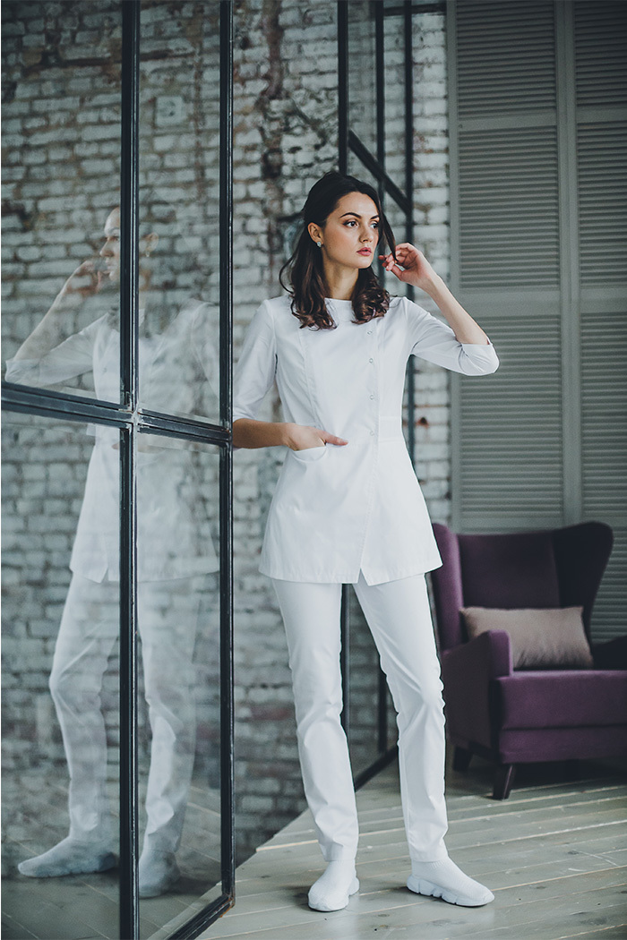 Блуза женская медицинская М 272