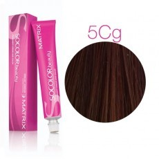 Matrix SOCOLOR.beauty: Copper Gold 5СG светлый шатен Медно-Золотистый, краска стойкая для волос (перманентная), 90мл