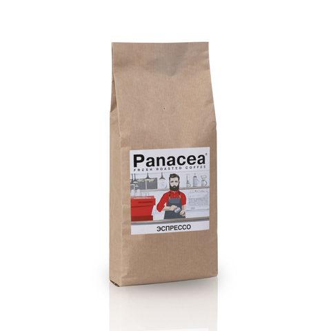 Ароматизированный кофе в зернах Panacea.Эспрессо