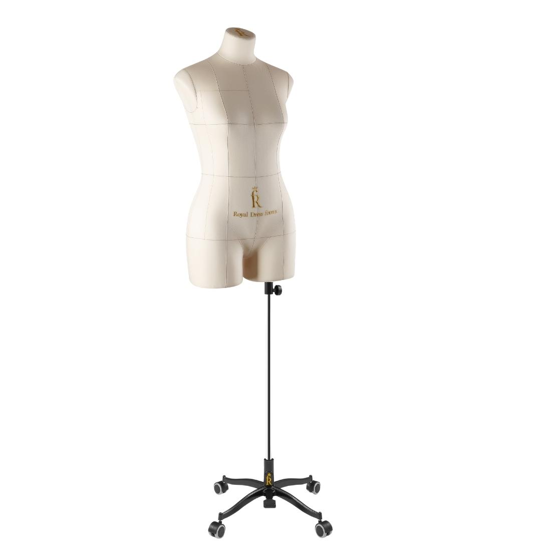 Манекен портновский Моника, комплект Стандарт, размер 44, бежевыйФото 2