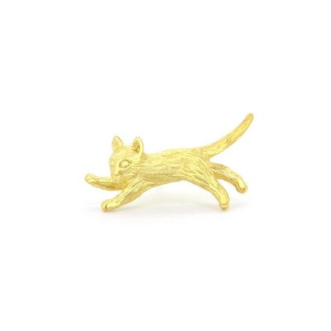 Моносерьга Прыгающий Котик
