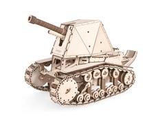 Танк СУ-18 от Леммо - Деревянный конструктор, сборная модель, 3D пазл. Подходит для моделирования