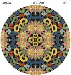 Эскиз для росписи, Круг диаметр-47,5см, SMAR-st-47