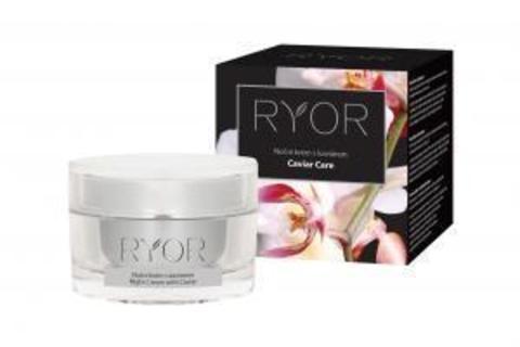 Ryor Caviar Care Регенерирующий ночной крем с икрой, маслом макадамии и витамином Е (40+), 50мл