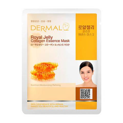 Маска для лица Dermal (пчелиное маточное молочко и коллаген)