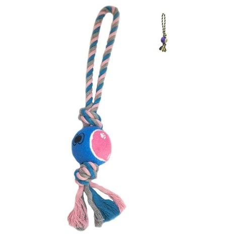 NEMS игрушка мяч на цветном канате (90109А)