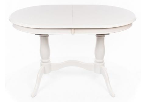 Стол деревянный кухонный, обеденный, для гостиной раскладной EV Elva молочный 80*80*75 Молочный