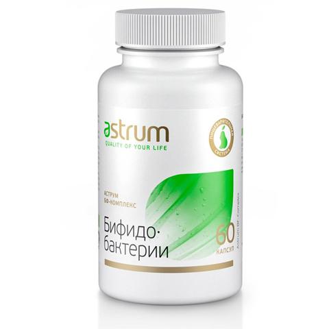 Astrum БАДы: Биодобавка Аструм БФ-Комплекс (Бифидобактерии), 60капсул