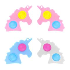 Набор 15 шт микс XL для девочки - пупырка вечная антистресс (поп ит, симпл димпл, спиннер, снапперс)
