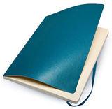 Блокнот Moleskine Classic Soft XLarge 190х250мм 192стр нелинованный мягкая обложка бирюзовый (QP623B6)