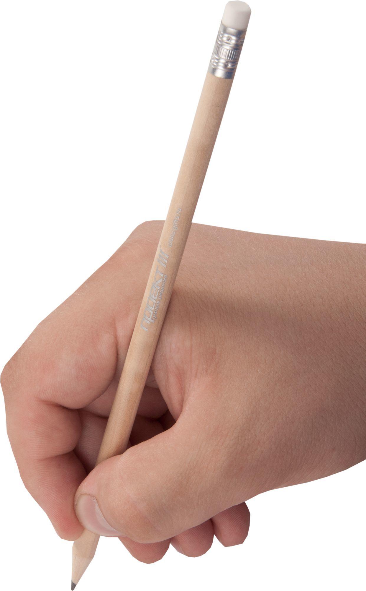 Карандаш простой с ластиком