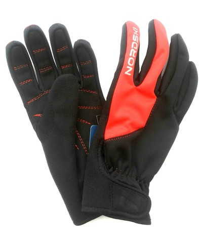 Лыжные перчатки Nordski Racing Black/Red WS