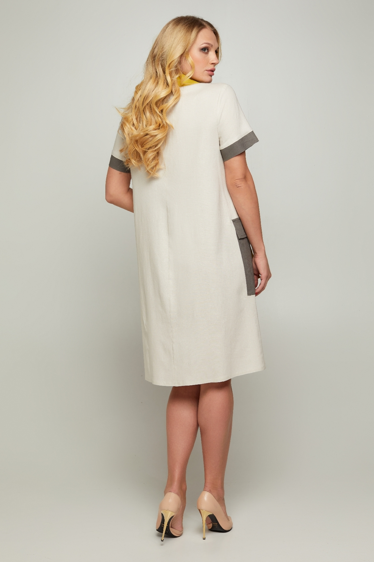 Платье Аланья (молочный )