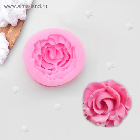 Молд Роза  4х4см Арт.СЛ-539, силикон