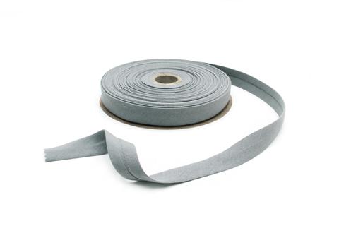 Бейка косая х/б,20 мм, св.серый