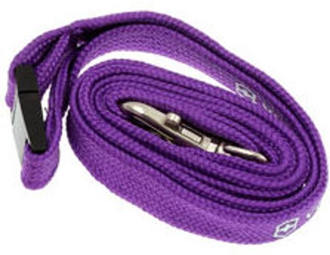 Нашейный шнурок Victorinox с карабином (4.1879.503) цвет фиолетовый - Wenger-Victorinox.Ru