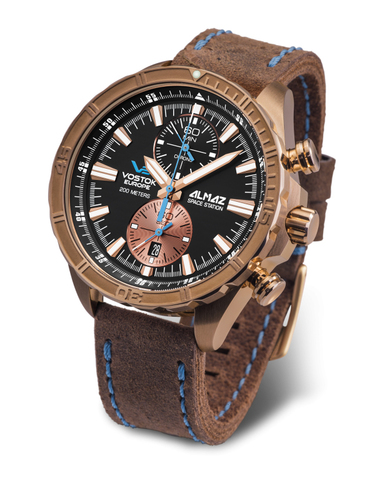 Часы наручные Восток Европа Алмаз Бронза 6S11/320O266
