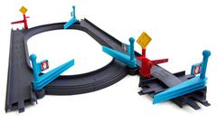 Дополнительный набор 'Железная дорога для паровозиков' (перекрёстки, стрелки, шлагбаумы, семафоры) (Чаггингтон, LC54303)
