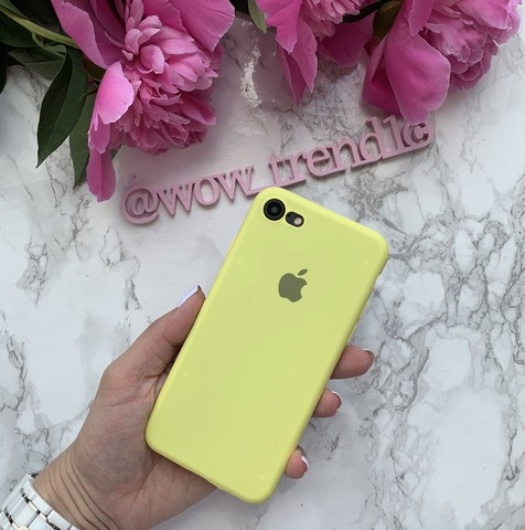 Чехол iPhone 6S Silicone Slim Case /flash/
