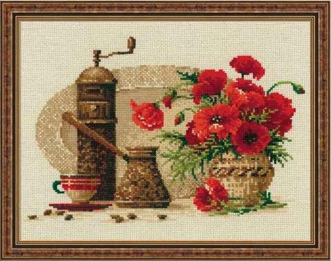 Набор для вышивания крестом «Кофе» (1121)