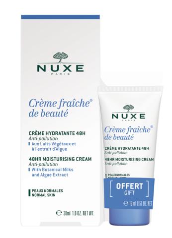 Nuxe НАБОР CREME FRAICHE DE BEAUTE для нормальной кожи