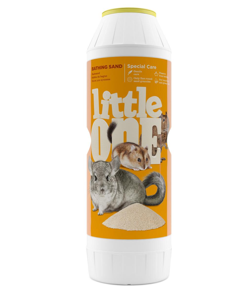Наполнители и опилки Песок Little One для грызунов и других декоративных животных (1 кг) 33010.jpg