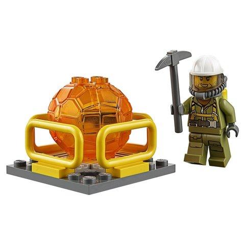 LEGO City: Вездеход исследователей вулканов 60122 — Volcano Crawler — Лего Сити Город