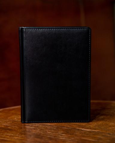 Набор с гравировкой: Блокнот и Шариковая ручка Parker IM Metal Black CT123