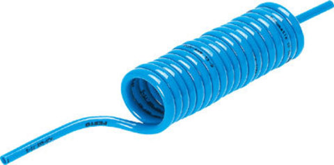 Спиральная полиуретановая трубка Festo PUN-8X1,25-S-1-BL