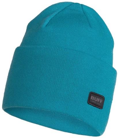 Вязаная шапка Buff Hat Knitted Niels Dusty Blue фото 1