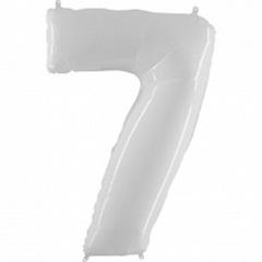 Г Цифра, 7, Белый, 40''/102 см, 1 шт.