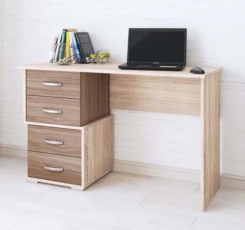 Письменный стол Сити-2 дуб сонома