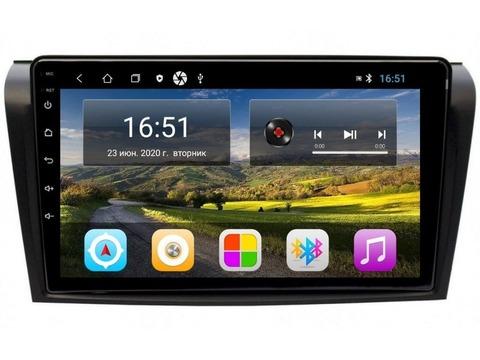 Магнитола для Mazda 3 2003-2008 Android 11 2/16GB IPS модельCB3034T3K