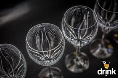 Набор из 6 бокалов для вина «Fiona» хр Bohemia Jihlava, фото 3