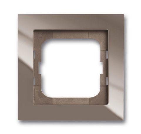 Рамка на 1 пост. Цвет Entrée серый. ABB(АББ). Axcent(Акcент). 1754-0-4471