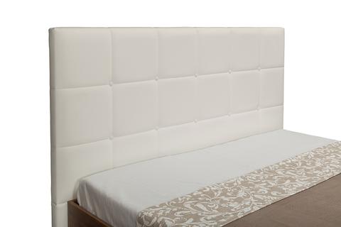 Кровать Камея 11.04 Моби 160х200 орех селект каминный/белый