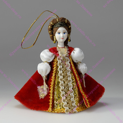 Малая подвесная кукла Дама