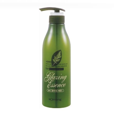 Flor de Man Укрепляющая эссенция для волос с хной Henna Hair Glazing Essence, 500мл