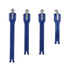 Комплект ремней Leatt для мотобот GPX 4.5/5.5 4-PCS синий