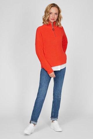 Женская оранжевая кофта Tommy Hilfiger