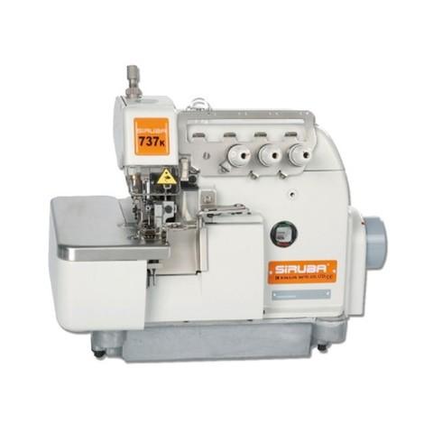 Трехниточная промышленная швейная машина обметочного стежка Siruba 737K-504F2-02 | Soliy.com.ua