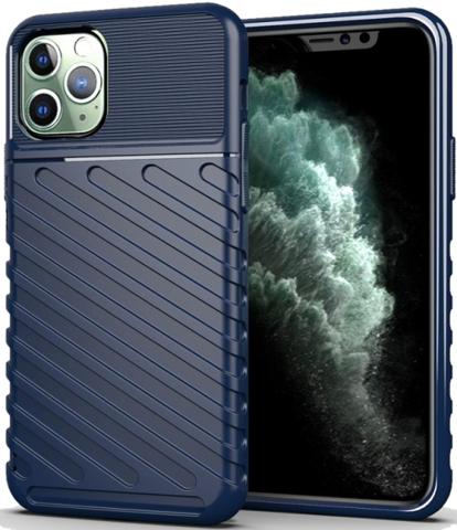 Чехол для iPhone 11 Pro цвет Blue (синий), серия Onyx от Caseport