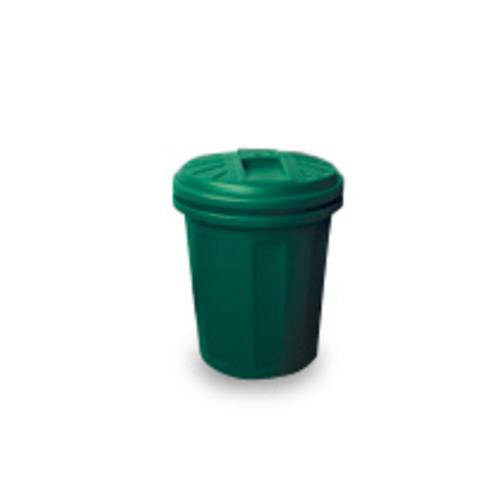 Пластиковый бак АГР для садового мусора зеленый