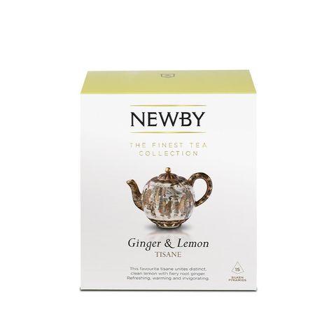 Newby Имбирь с лимоном (15 пирамидок)
