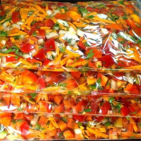 Смесь овощная с/м 1 кг