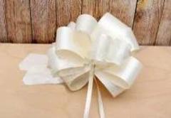 Бант-шар Молочный. 3 см, Белый, 1 шт.