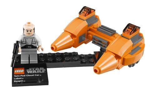 LEGO Star Wars: Двухместный аэромобиль и планета Беспин 9678 — Twin-Pod Cloud Car & Bespin — Лего Звездные войны Стар Ворз