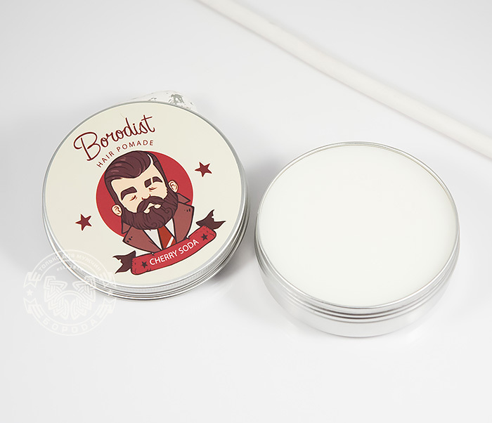 RAZ202-1 Бриолин «Borodist» для укладки волос с ароматом «Cherry Soda» (100 гр) фото 03