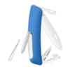 Швейцарский нож SWIZA D04 Standard, 95 мм, 11 функций, синий