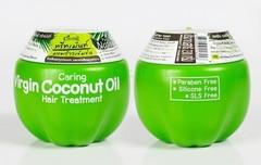 Маска для волос с кокосовым маслом Caring